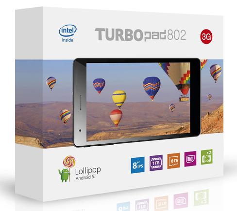 TurboPad 802i - обзор