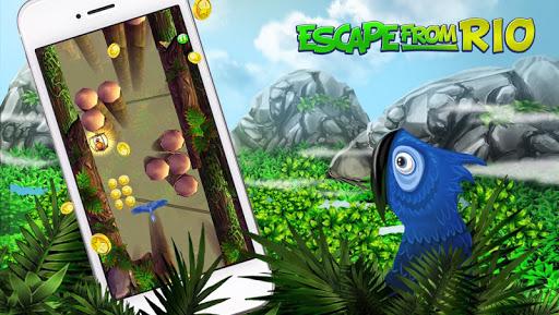 Игра Escape From Rio - Blue Birds на Андроид