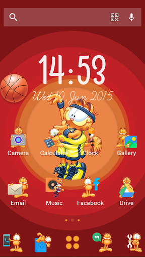 Garfield Sports-Solo Theme скачать на Андроид