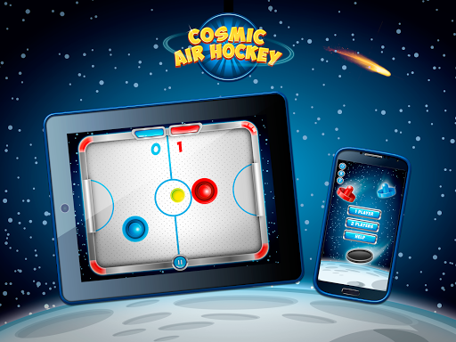 Космический Аэрохоккей скачать на Андроид