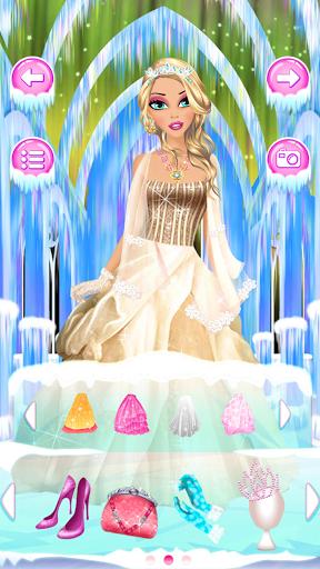 Игра Принцесса льда Спа салон на Андроид