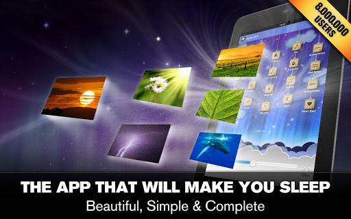"Приложение ""Relax Melodies P: Sleep & Yoga"" для планшетов на Android"