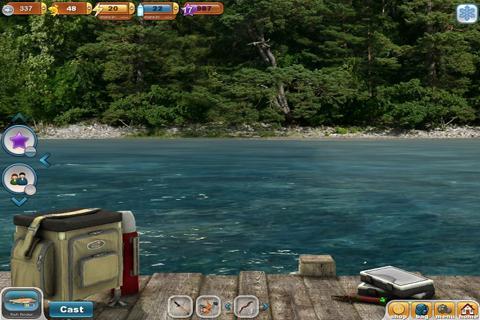 """Игра """"Fishing Paradise 3D"""" на Андроид"""