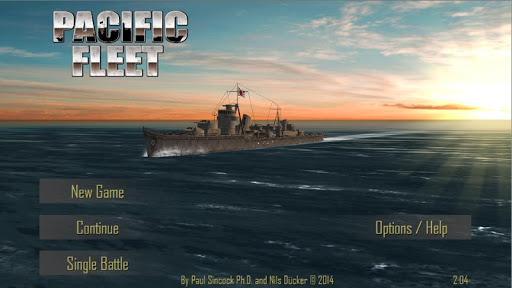 Игра Pacific Fleet на Андроид