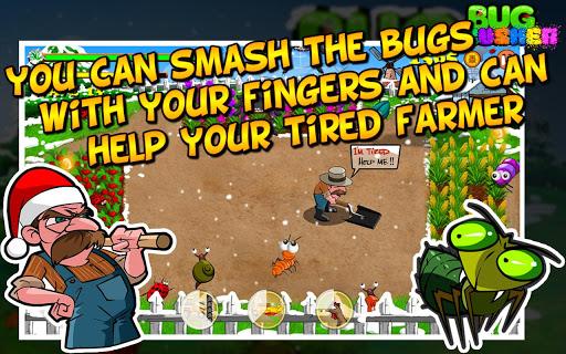 """Игра """"Bug Crusher Winter"""" на Андроид"""