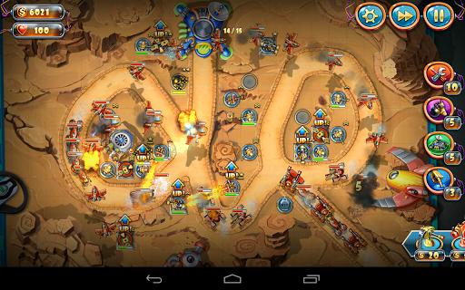 Игра Солдатики Звездный десант для планшетов на Android