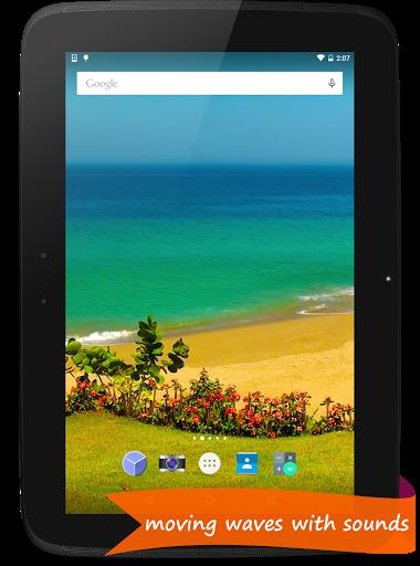 Blue Ocean - Live Wallpaper скачать на планшет Андроид