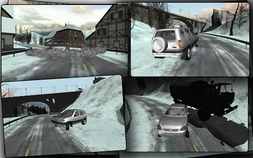 Russia Snow Road Simulator на Андроид