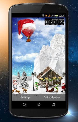 Day Night Xmas LWP 2015 скачать на Андроид