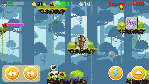 Super Monkey Go скачать на планшет Андроид
