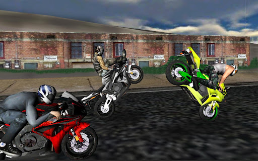 "Игра ""Race Stunt Fight! Motorcycles"" на Андроид"