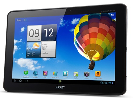 Обзор планшета Acer Iconia Tab A510 на Android 4.0