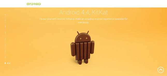 После Android 4.3 Jelly Bean будет Android 4.4 Kit Kat