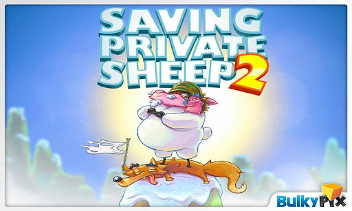 "Игра ""Saving Private Sheep 2"" на Андроид"