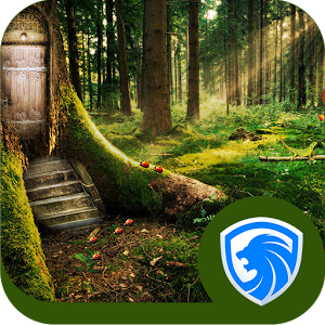 AppLock Theme — Deep Forest