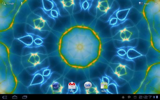 """Живые обои """"Prismatic Live Wallpaper"""" для планшетов на Android"""
