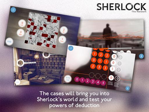 Sherlock: The Network для планшетов на Android