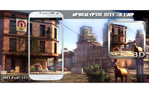 Apocalyptic City 3D LWP скачать на планшет Андроид