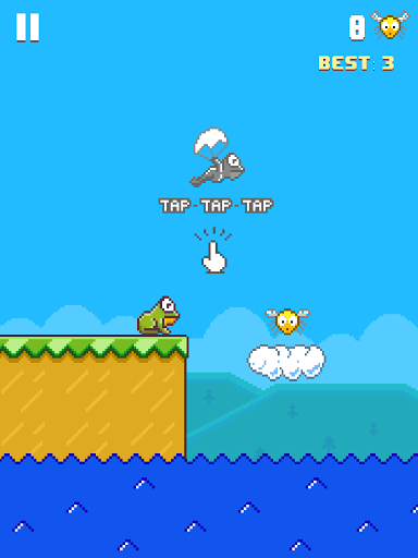 Игра Hoppy Frog для планшетов на Android
