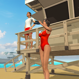 Beach Lifeguard Rescue