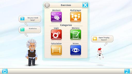 Игра Einstein Тренировка для ума для планшетов на Android