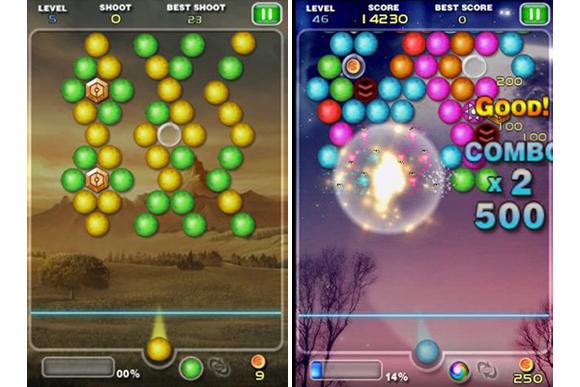 "Игра ""Bubble Shoot"" для планшетов на Android"