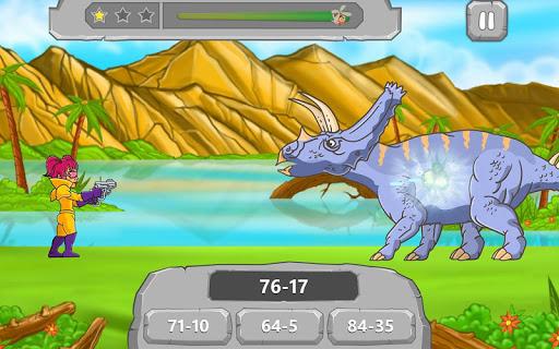 Динозавры Математические Игры