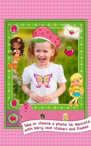 Игра Клубничка: создай открытку на Андроид