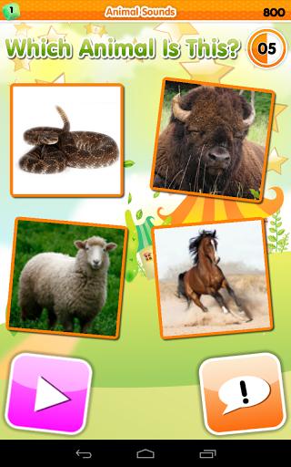 Игра Зоопарк Викторина на Андроид