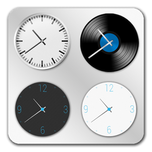 Часы «ClockQ Analog — clock widget»