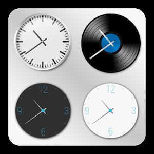 Часы «ClockQ Analog — clock widget»