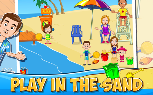 My Town: Beach Picnic скачать на Андроид