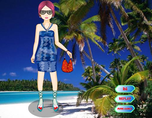 Игра Exotic girl - Dress up на Андроид