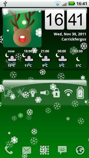 """Живые обои """"Awesome Snow Free"""" на Андроид"""
