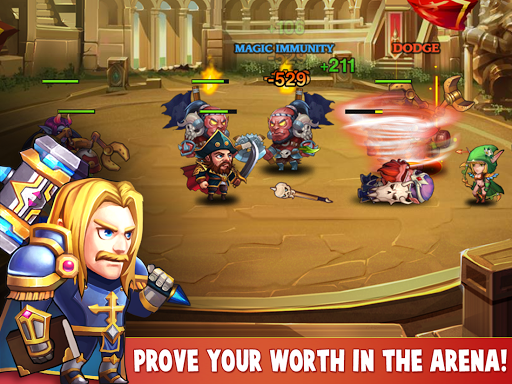 Heroes Charge для планшетов на Android