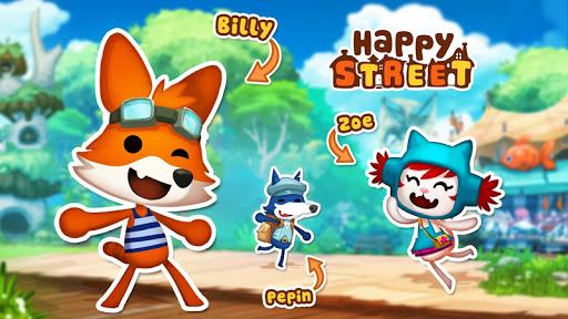 """Игра """"Happy Street"""" для планшетов на Android"""