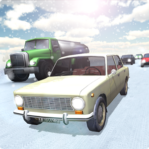 Russia Snow Road Simulator
