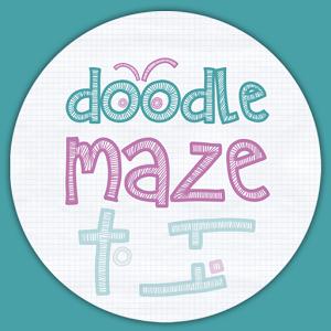 Doodle Maze Lite. Puzzle game