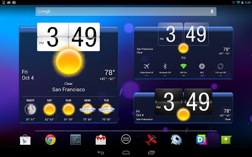 Приложение HD Виджеты на Андроид