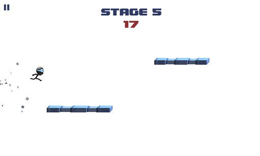 Игра Stickman Impossible Run на Андроид