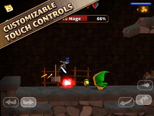 Игра Swordigo на Андроид