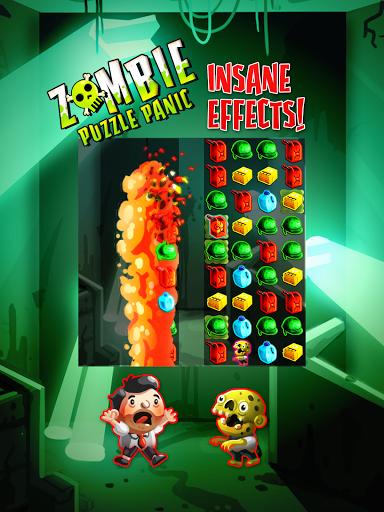Игра Zombie Puzzle Panic для планшетов на Android