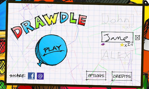"Игра ""Drawdle"" на Андроид"