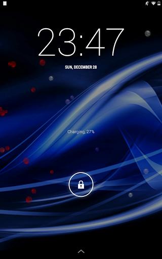 """Живые обои """"Wave"""" для планшетов на Android"""