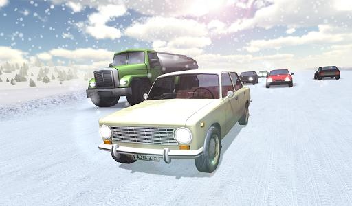 Russian Winter Traffic Racer на Андроид