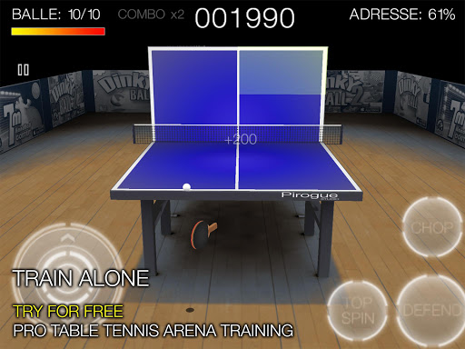 Pro Arena Table Tennis для планшетов на Android