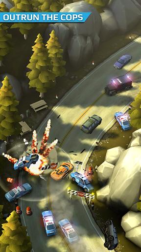 Игра Smash Bandits Racing для планшетов на Android