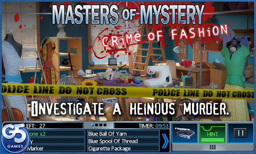"Игра ""Masters of Mystery 2"" на Андроид"
