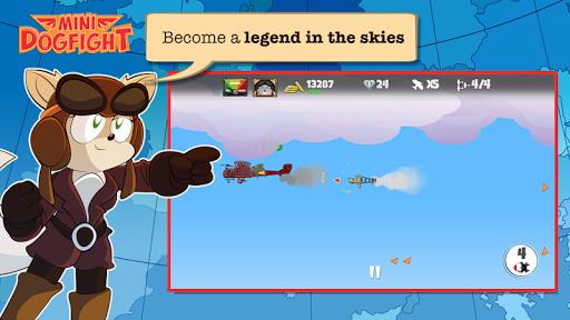 Игра Mini Dogfight для планшетов на Android