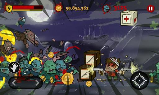 Игра Dante Zomventure на Андроид